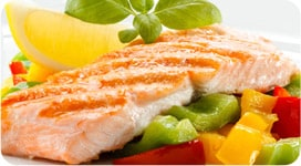 Broiled Summer Fish with Fruit Salsa