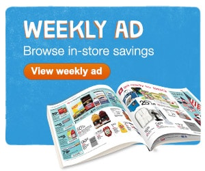 Weekly Ad. Browse in-store savings. View weekly ad.