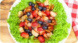 Chicken and Fruit Salad Recipe