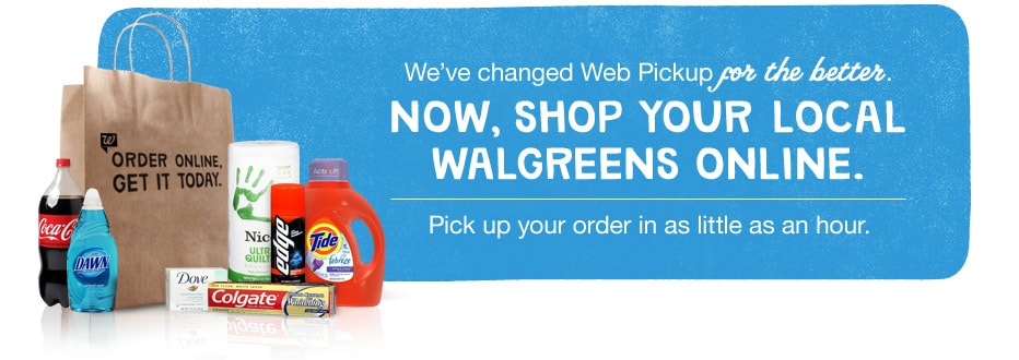 Now you can shop your local Walgreens online.