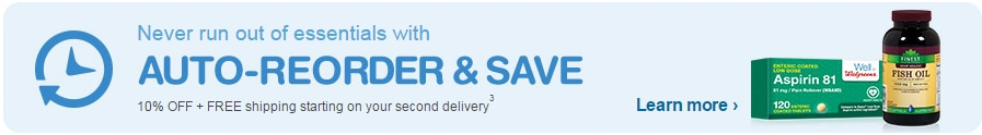 Auto-Reorder and Save. Learn more.