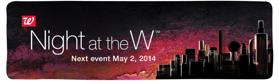 Night at the W - Next event May 2, 2014.