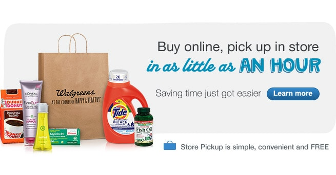 Buy online, save time with simple, convenient & FREE store pickup. Learn more.
