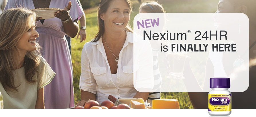 NEW Nexium(R) 24HR is FINALLY HERE