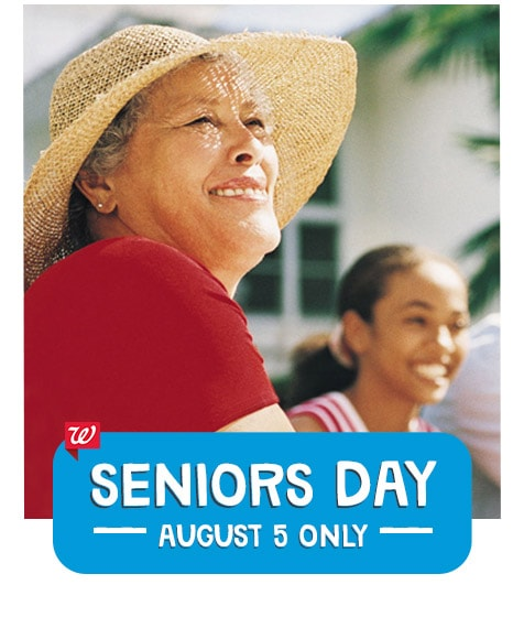 Seniors Day August 5 ONLY.