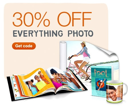 30% OFF Everything Photo. Get code.