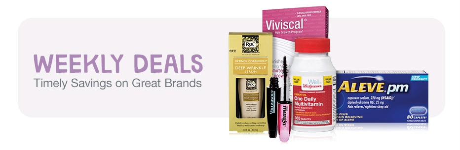 WEEKLY DEALS - Timely Savings on Great Brands