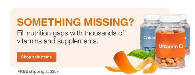Weekly deals on vitamins & supplements. Shop sale items. FREE shipping at $25+.