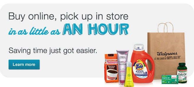 Buy online, pick up in store in as little as an hour. Learn more.