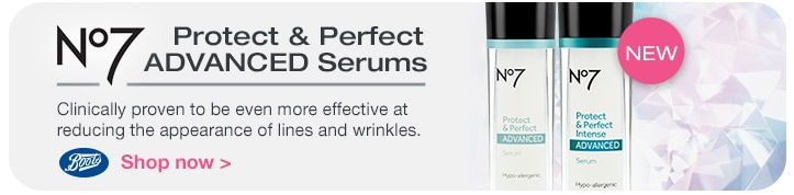 New, Boots No 7 Protect & Perfect Advanced Serums. Shop now.