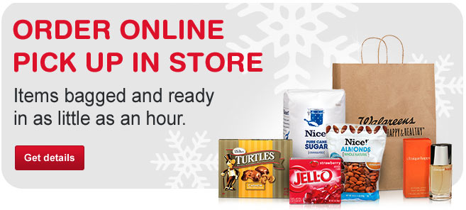 Order Online. Pick Up In Store. Items bagged and ready in as little as an hour. Get details.