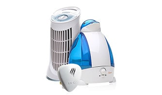 Humidifiers, vaporizers and purifiers