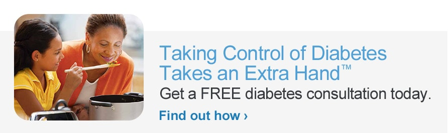 Taking Control of Diabetes Takes an Extra Hand (TM)