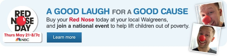 Red Nose Day, Thurs May 21 on NBC 8/7c. A Good Laugh for a Good Cause. Learn more.