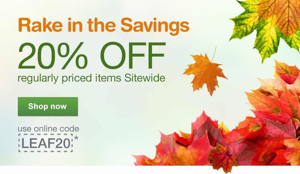 Walgreens: 20% off Reg.-Priced...
