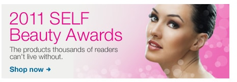 2011 SELF Beauty Awards. The products thousands of readers can't live without.