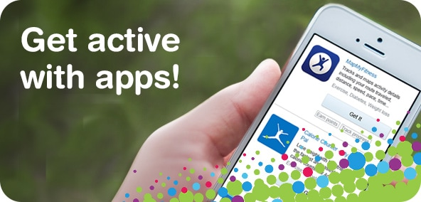 Get active with apps!