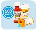 Get 500 Points on Prescriptions(1)