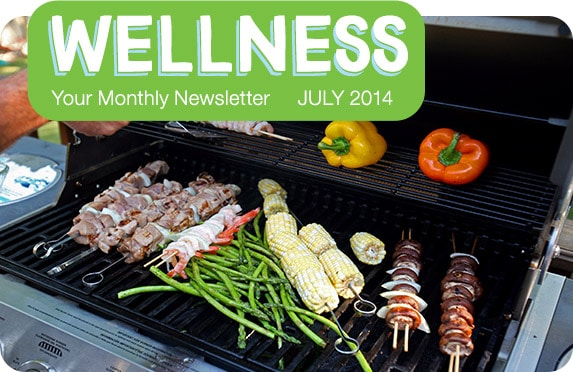 Wellness - Your Monthly Newsletter | July 2014