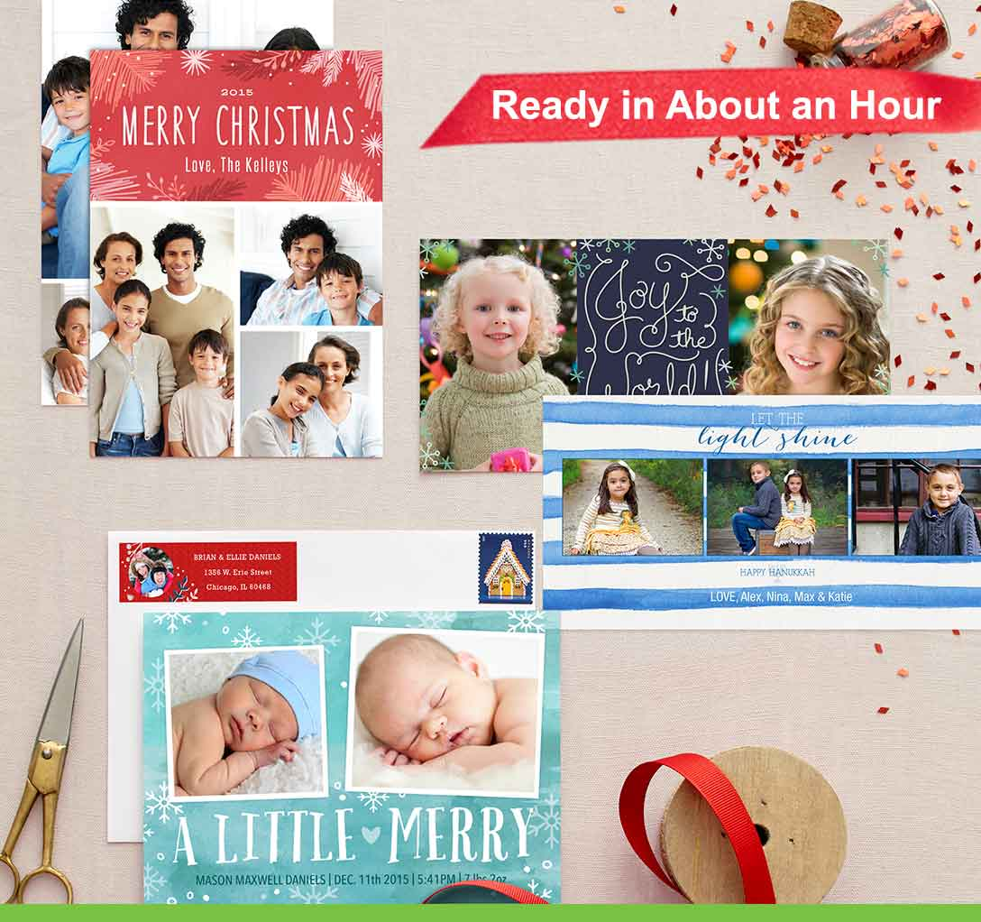 Holiday shop in store walgreens photo cards kristyandbryce Images