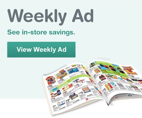 Weekly Ad. See in-store savings. View Weekly Ad.
