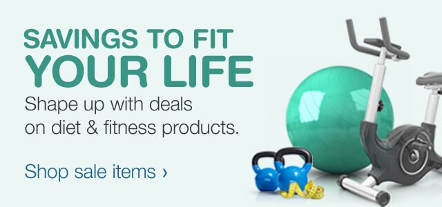 Shape up with deals on diet & fitness products. Shop sale items.