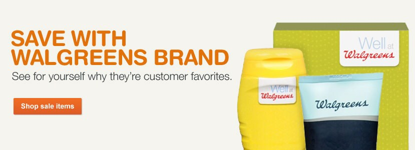 Save with Walgreens Brand. See why they're customer favorites. Shop sale items.