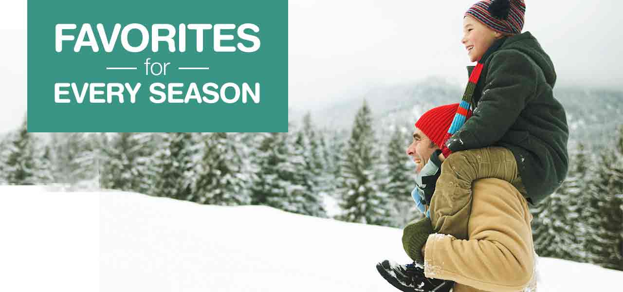 Favorites for Every Season.