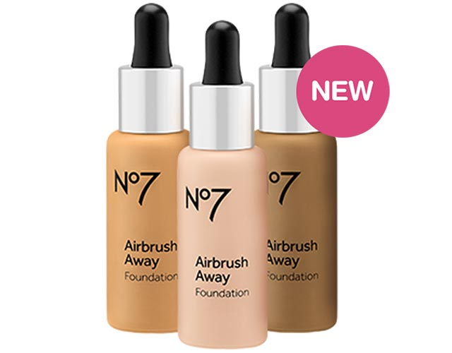 NEW No7 Airbrush Away Foundation