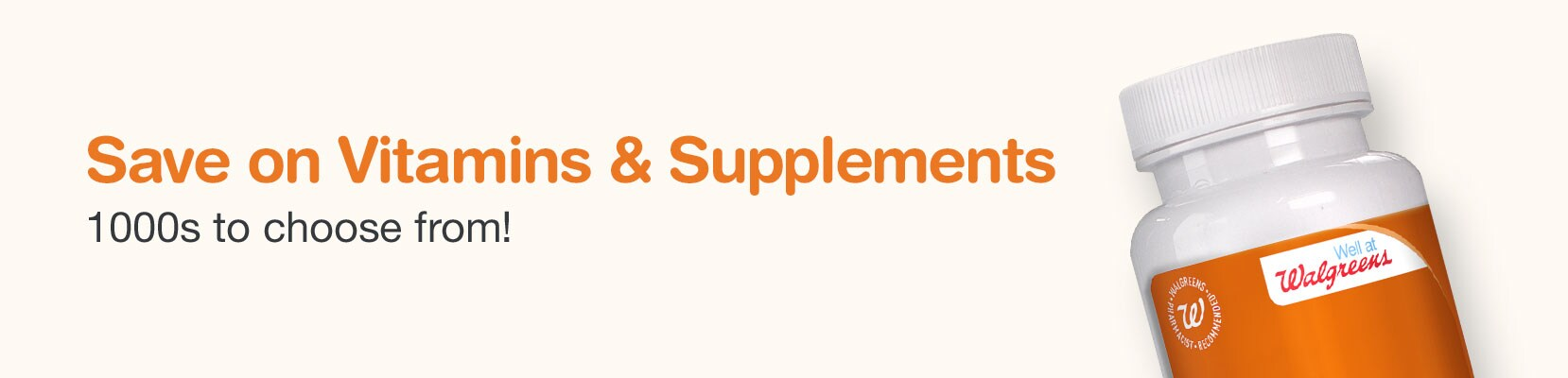 Save on Vitamins & Supplements. 1000s to choose from!