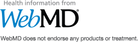 Health Information from WebMD.(R) WebMD does not endorse any products or treatment.