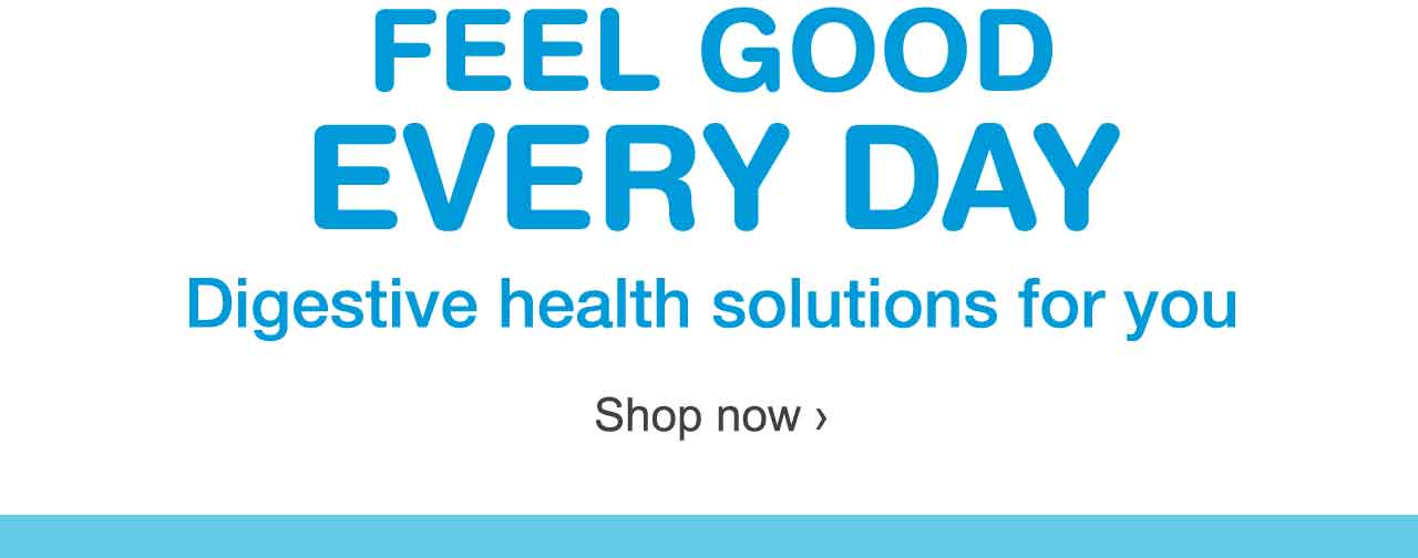 Feel Good Every Day. Digestive health solutions for you. Shop now.