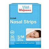 Walgreens Nasal Strips Small/Medium Clear 30.0ea
