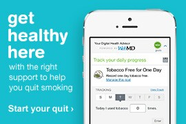 Get healthy here with the right support to help you quit smoking. Start your quit.