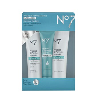 No7 Protect & Perfect Intense ADVANCED Travel Kit