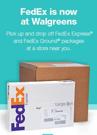 fedex walgreens