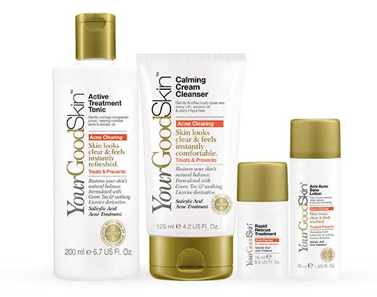 YourGoodSkin Acne Clearing Products
