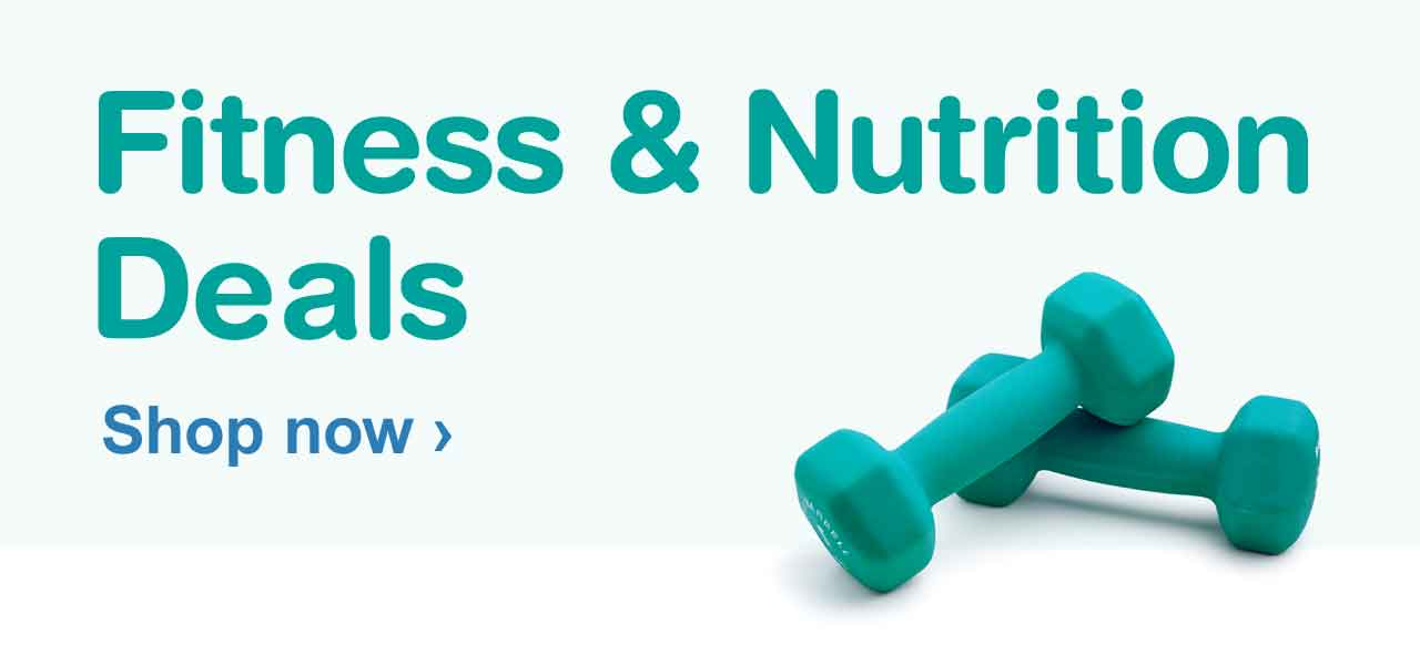 Fitness and Nutrition Deals. Shop now.