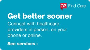 Get better sooner. Connect with healthcare providers in person, on your phone or online. See services.