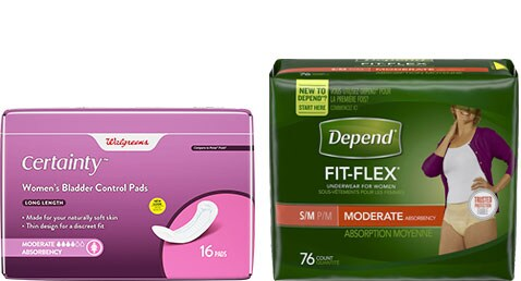Incontinence Products | Walgreens