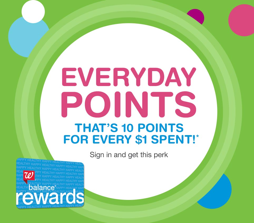 Balance Rewards | Walgreens