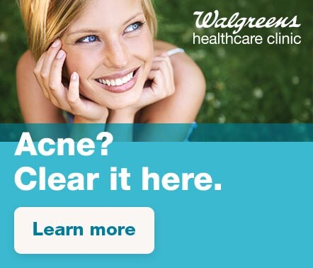 Acne? Clear it here. Learn more.