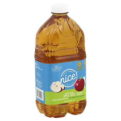Nice! 100% Apple Juice