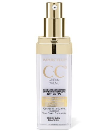 Marcelle CC Cream SPF 35 Complete Correction - Golden Glow