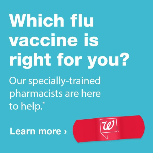 Seasonal Flu Immunization Services Walgreens