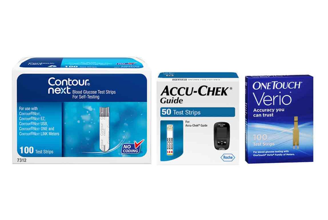 We carry major brands of diabetes testing strips