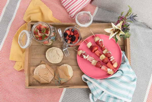 Plan the perfect picnic for the whole family to enjoy.