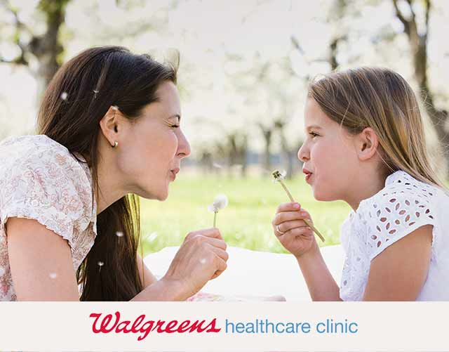 Walgreens healthcare clinic.