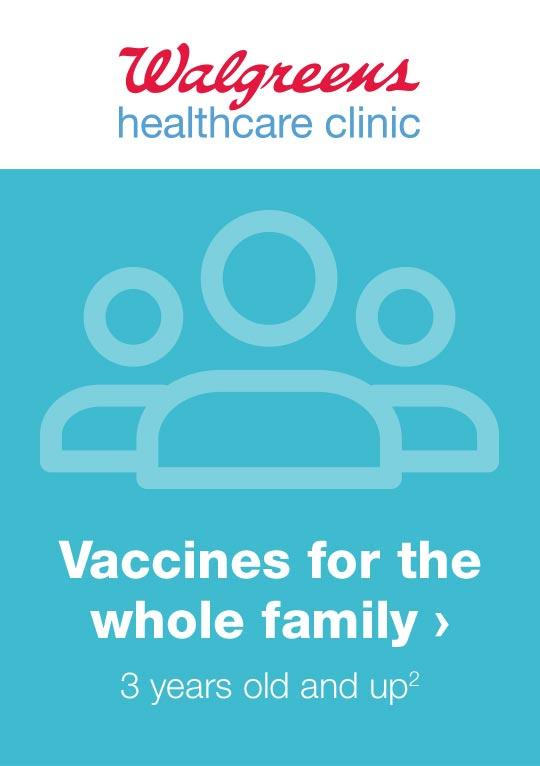 Immunization Services Pharmacy Walgreens