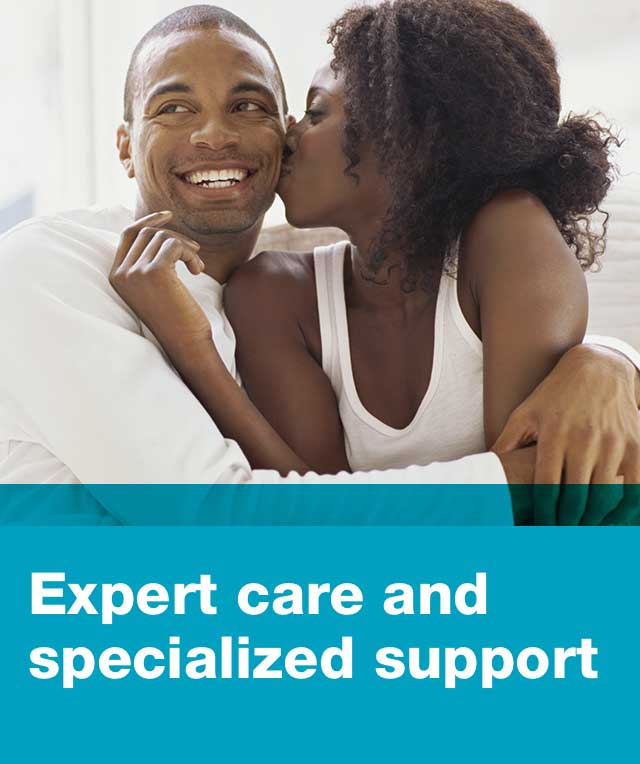 Expert care and specialized support